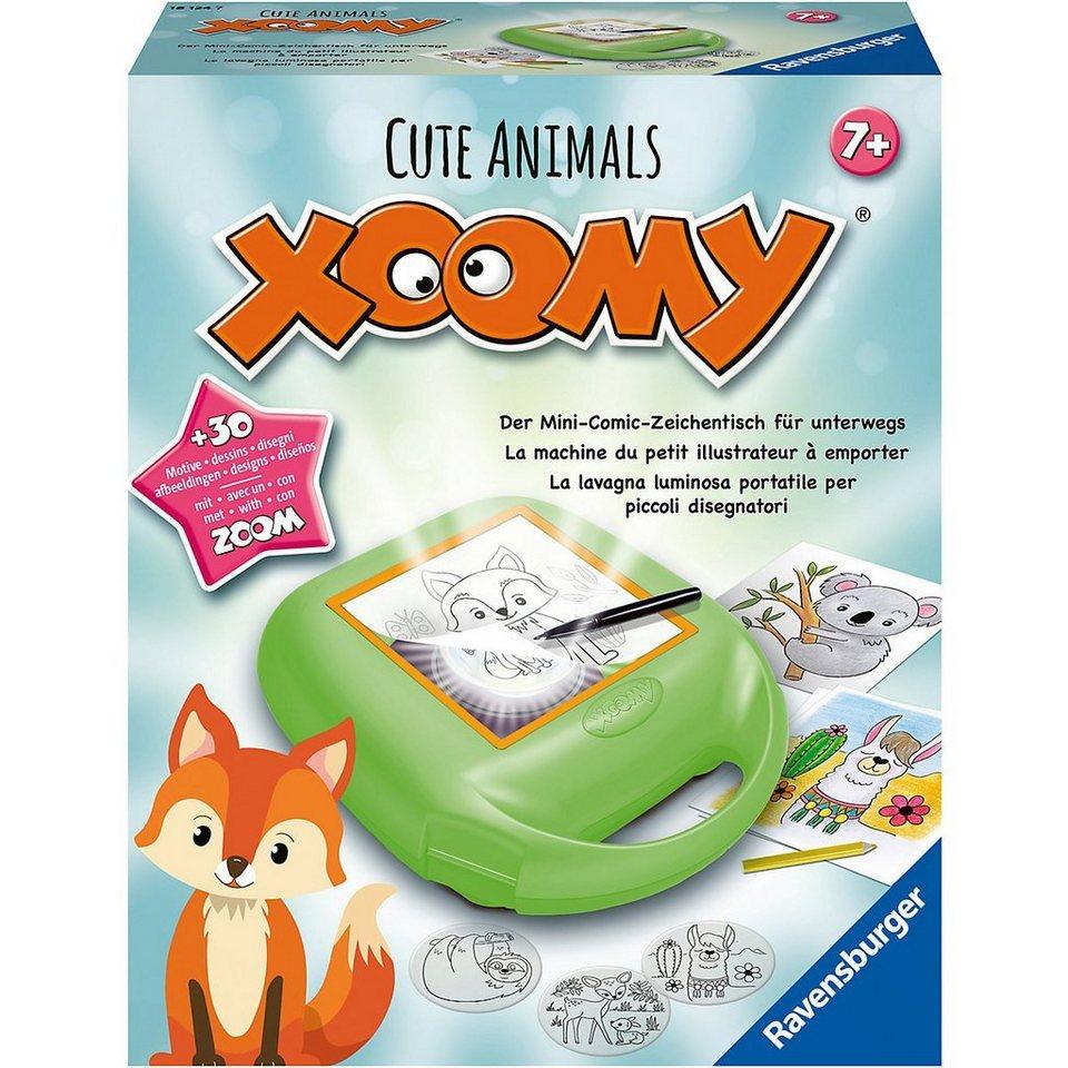 ravensburger malvorlage »xoomy® midi cute animals«  otto