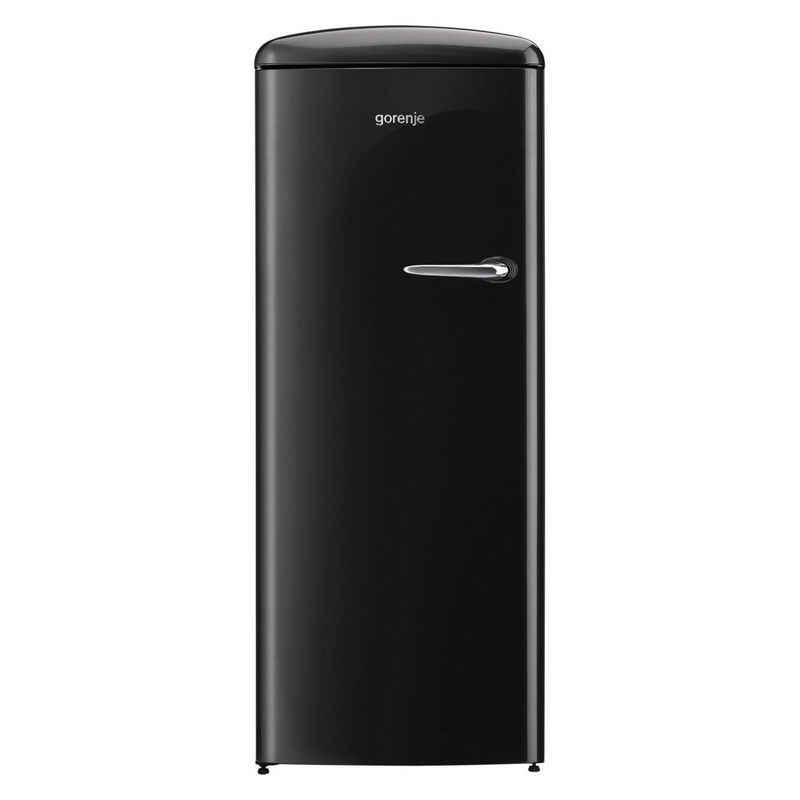 GORENJE Kühlschrank ORB153BK-L, 154.0 cm hoch, 60.0 cm breit