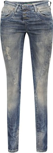 Please Jeans Destroyed-Jeans »P 24I« im Heavy Used Look