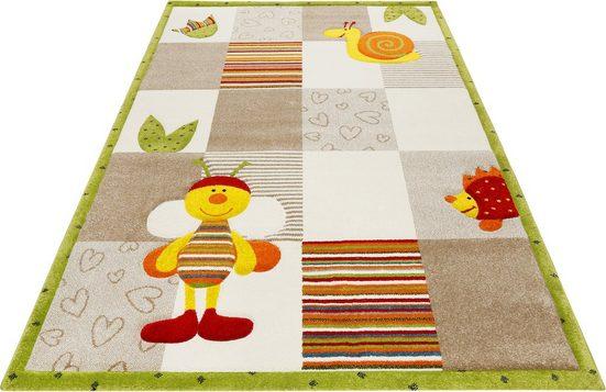 Kinderteppich »Kids Bee 2.0«, Esprit, rechteckig, Höhe 13 mm, Kinder Motiv Teppich
