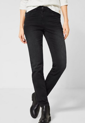 Cecil Slim-fit-Jeans 5-Pockets Style
