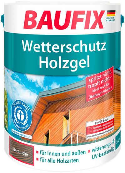 Baufix Holzschutzlasur »Palisander«, 5 Liter, braun