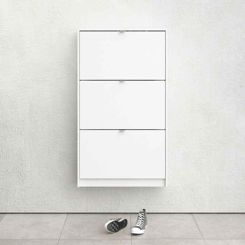 Home affaire Schuhschrank »Shoes« mit drei Klappen, in verschiedenen Farbvarianten erhältlich