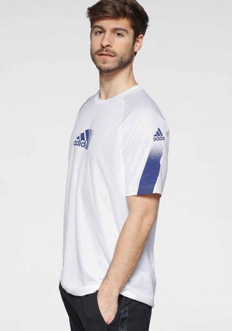 adidas Performance Trainingsshirt »MEN SEASONAL TEE«