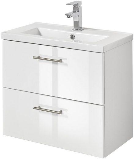 Waschtisch »Trento«, Breite 60 cm, Tiefe 36 cm, SlimLine