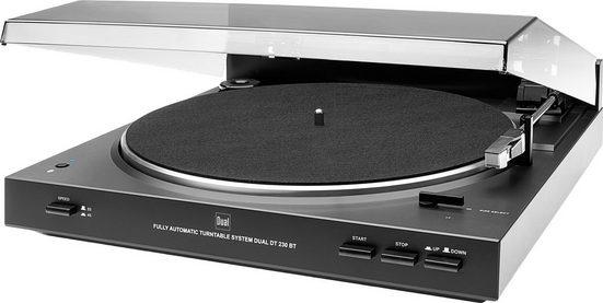 Dual »DT 230 BT« Plattenspieler (Riemenantrieb, Bluetooth)