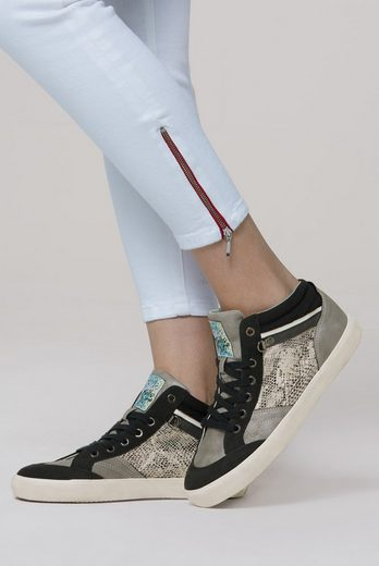SOCCX Sneaker in Reptil-Optik