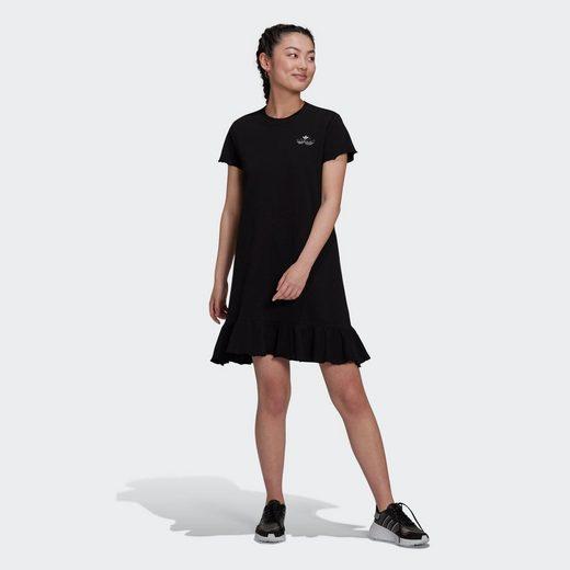 adidas Originals Shirtkleid »Triple Trefoil Ruffle Kleid«