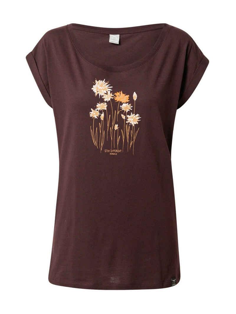 iriedaily T-Shirt »Cornflower« (1-tlg)