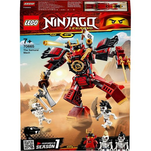 LEGO® Konstruktions-Spielset »LEGO® NINJAGO® 70665 Samurai-Roboter«