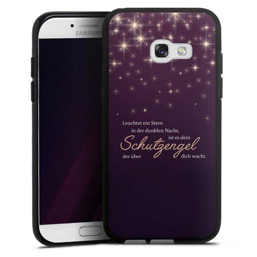 DeinDesign Handyhülle »Schutzengel« Samsung Galaxy A3 (2017), Hülle Schutzengel Sprüche Spruch