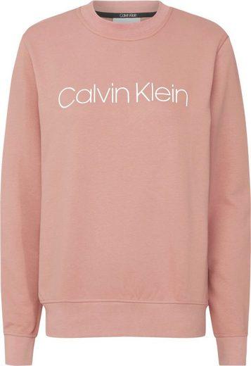Calvin Klein Sweatshirt »CORE LOGO PRT SWEATSHIRT« mit farbigem Calvin Klein Logo-Schriftzug