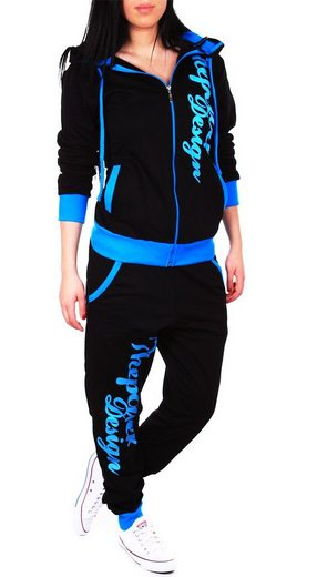 Code47 Jogginganzug »Damen Power Jogginganzug 506« (Sportanzug Trainingsanzug Fitnessanzug, 2-tlg., Sportswear TrackSuit Sweat)