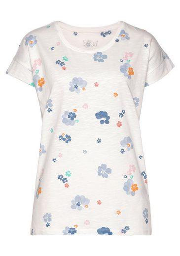 Esprit T-Shirt mit Allover-Print