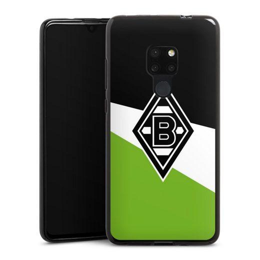 DeinDesign Handyhülle »Borussia Schwarz-Weiss-Grün« Huawei Mate 20, Hülle Borussia Mönchengladbach Gladbach Offizielles Lizenzprodukt