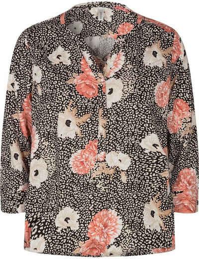soyaconcept 3/4-Arm-Shirt »SC-FELICITY302« mit Blüten Muster