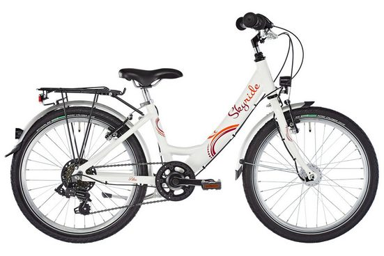 """Puky Kinderrad »Skyride 20"""" Fahrrad 6-Gang Mädchen«"""