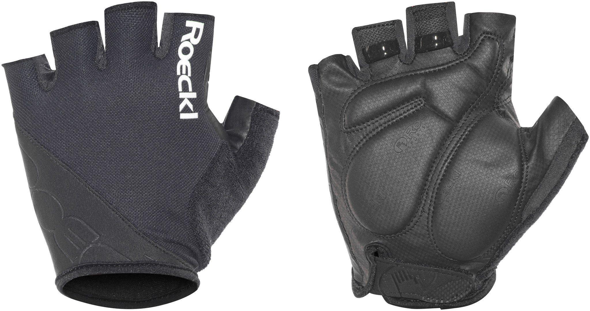 Unisex Roeckl Handschuhe »Bologna Handschuhe« grau, rot, schwarz, weiß   04044791600243