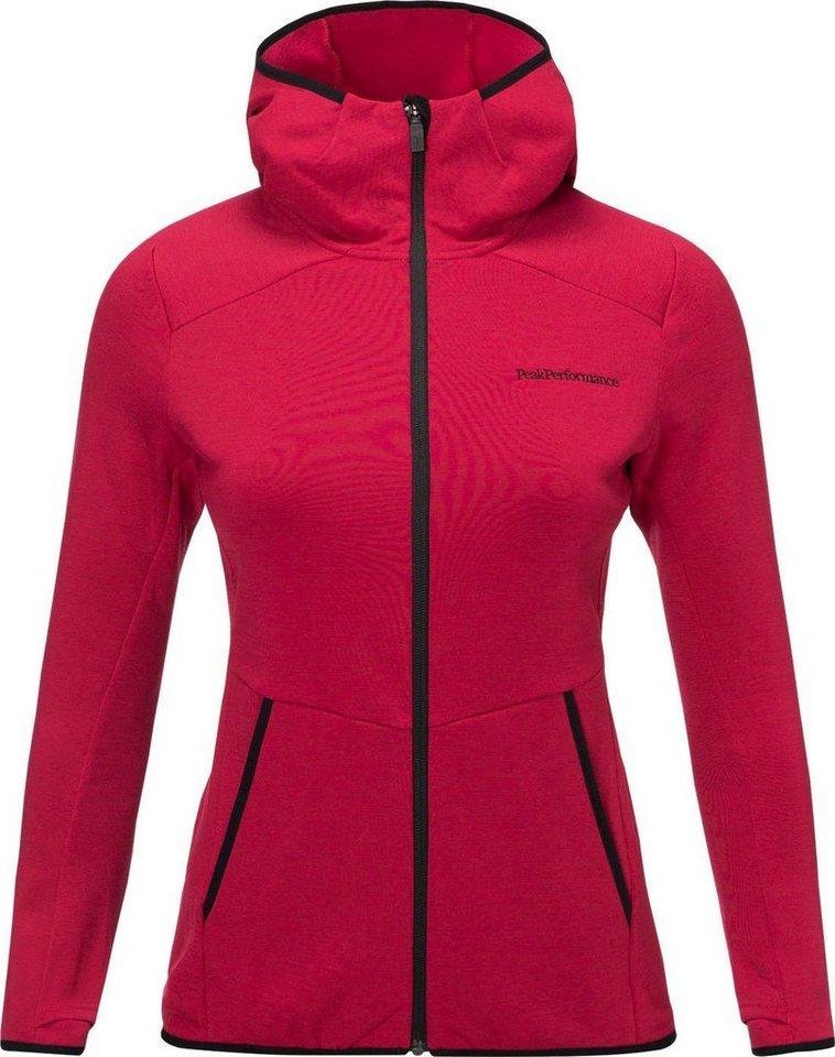 the best attitude bb215 da6ce Peak Performance Pullover »Helo Mid Hood Jacket Damen« online kaufen | OTTO