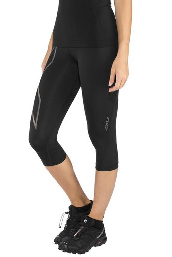 2xU Hose »Run Mid Rise Compression 3/4 Tights Damen«