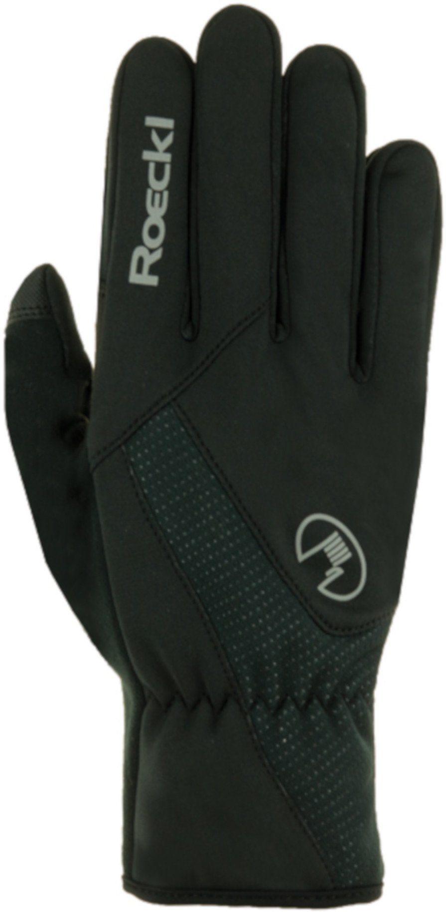 Unisex Roeckl Handschuhe »Roth Bike Gloves« gelb, schwarz   04044791615308