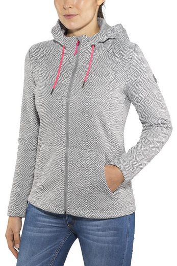 High Colorado Outdoorjacke »Bergamo StrickFleece Jacke Damen«