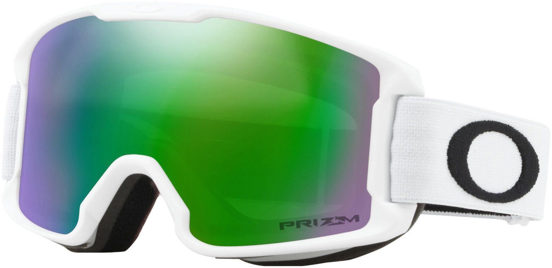 Unisex Oakley Gletscherbrille »Line Miner Snow Goggles Kinder« schwarz, weiß | 00888392334862