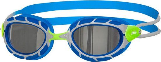 Zoggs Schwimmsportzubehör »Predator Mirror Goggles Kinder«
