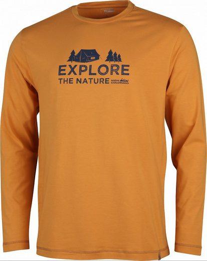 High Colorado Sweatshirt »Wallis 4 Langarmshirt Herren«