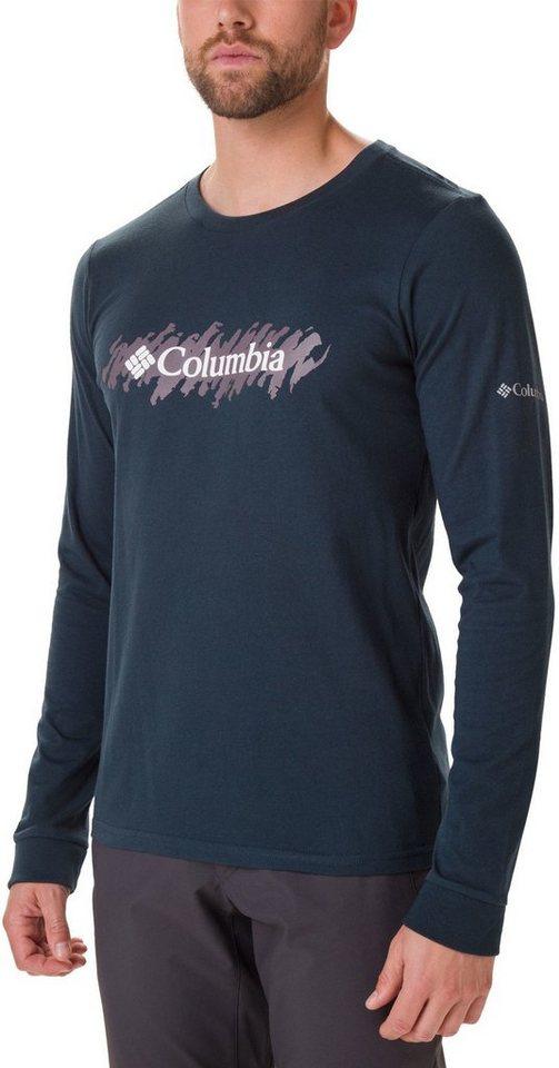 lowest price 4251f 72dd2 Columbia Sweatshirt »Lodge Langarm Graphic T-Shirt Herren« online kaufen |  OTTO