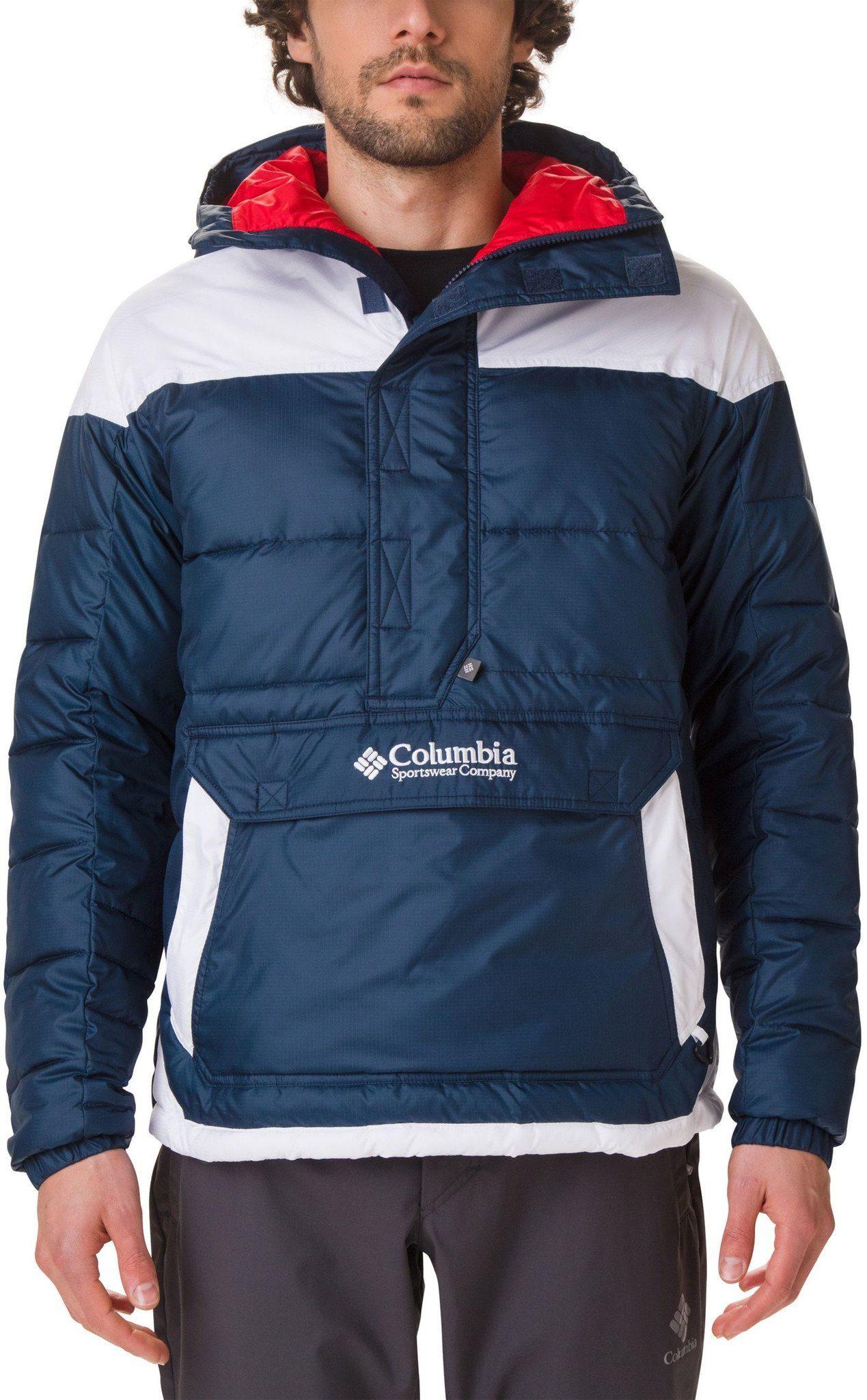 Columbia Outdoorjacke »Lodge Pullover Jacke Herren« online kaufen | OTTO