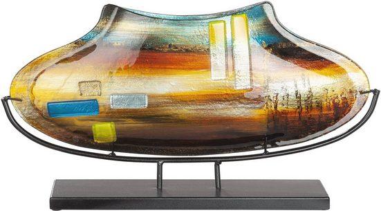 GILDE GLAS art Dekovase »Campo« (1 Stück), aus Glas, Höhe ca. 29 cm