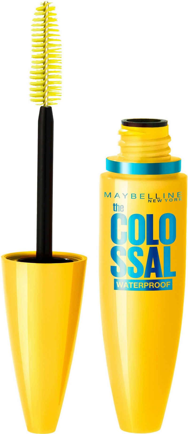 MAYBELLINE NEW YORK Mascara »VEX Colossal Waterproof«, Mit Collagen und Bienenwachs