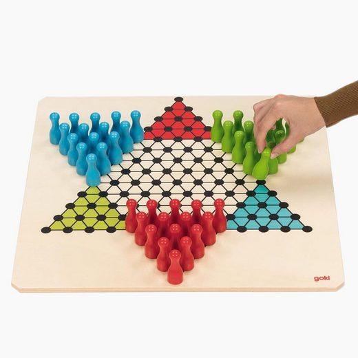 goki Spiel, XXL Brettspiel »Halma XXL Brettspiel«, Made in Germany