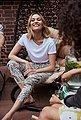 Elli Kette mit Anhänger »Layer - Halbmond, 0104222817«, mit Swarovski® Kristallen, Bild 11