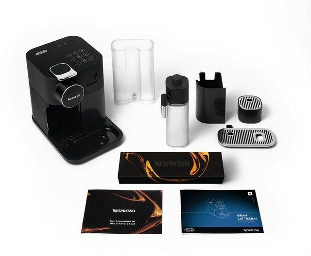 Nespresso Kapselmaschine Distinta Moments| Gran Lattissima EN 650.B – Sunset Black | Küche und Esszimmer > Kaffee und Tee > Espressomaschinen | Nespresso