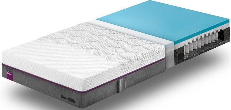 Taschenfederkernmatratze »Fusion Helix Dynamic«, Dunlopillo better sleep, 23 cm hoch, Raumgewicht: 40