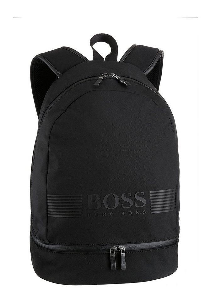 boss -  Cityrucksack »Pixel_Backp pock«, mit Logo Print