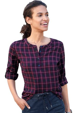 Блуза в modernen клетчатый