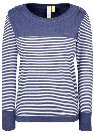 alife and kickin Langarmshirt »LEONIE B« verspieltes langarm Shirt im maritimen Look