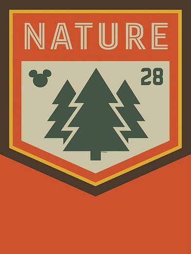 Komar Poster »Mickey Mouse Nature«