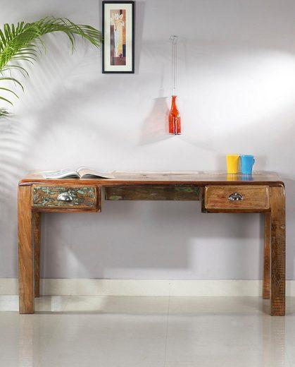 SIT Schreibtisch »Fridge«, aus recyceltem Altholz