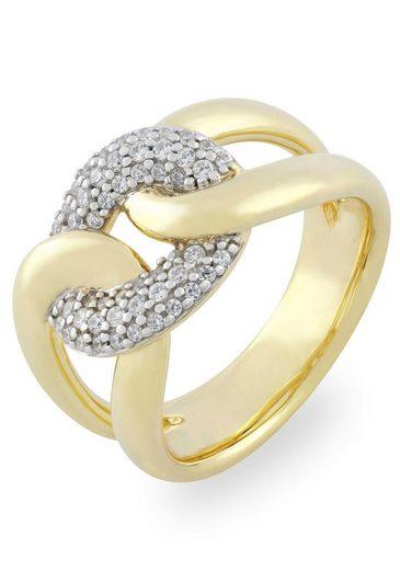 VILMAS Fingerring »True Romance Burning Desire, 4028146492080, 2097, 2103« mit Zirkonia