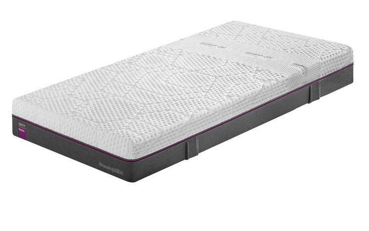 Taschenfederkernmatratze »Diamond Degree Dynamic«, Dunlopillo better sleep, 25 cm hoch, Raumgewicht: 50, 670 Federn, lila = Dynamic