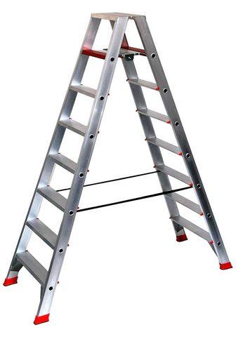 SZ METALL Dvipusės kopėčios 4 m 8-stufig