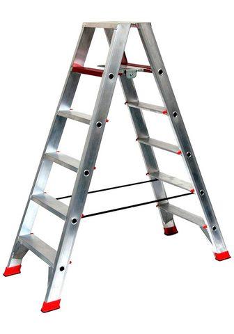 SZ METALL Dvipusės kopėčios 35 m 6-stufig