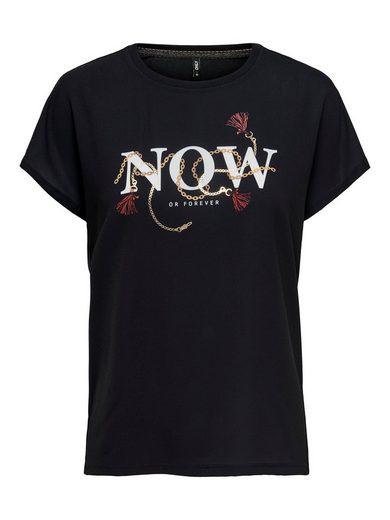 Only Print-Shirt »CARIN« mit Frontdruck