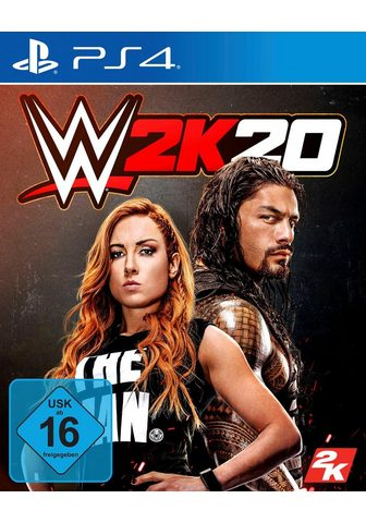 2K WWE 20 PlayStation 4
