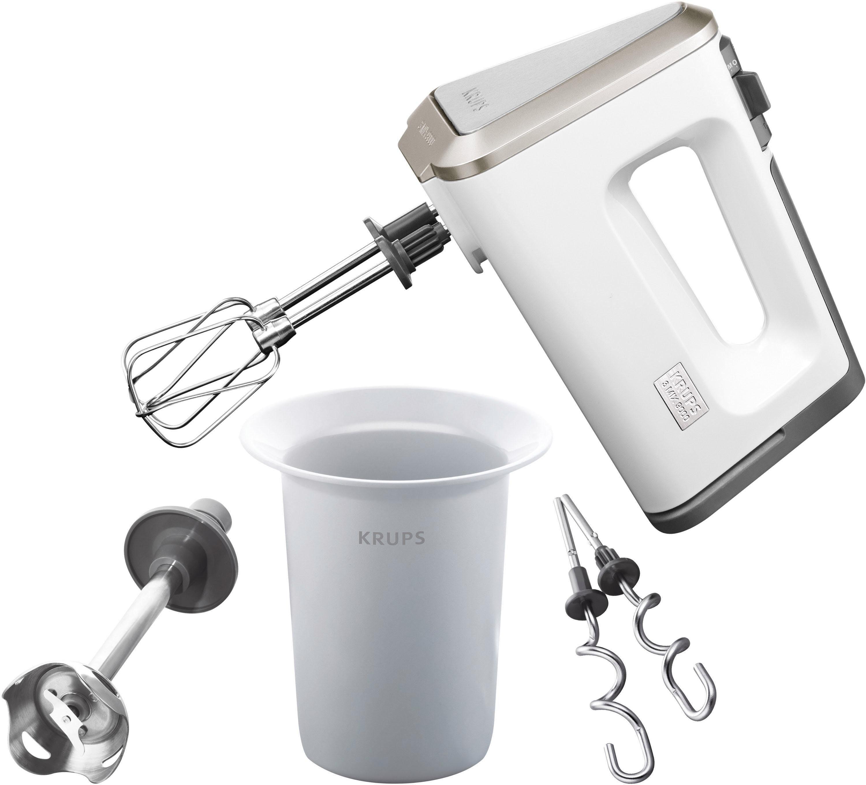 Krups F60814 Weiß Mixer Handmixer