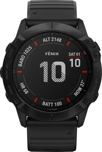 Garmin fēnix 6X – Pro Smartwatch (3,56 cm/1,4 Zoll)